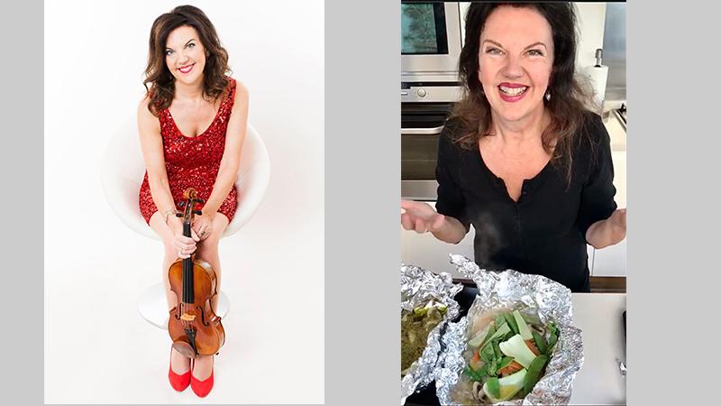 Fiddler's Favorite Recipes Episode 17: Tasmin Little's Sea Bass En Papillote
