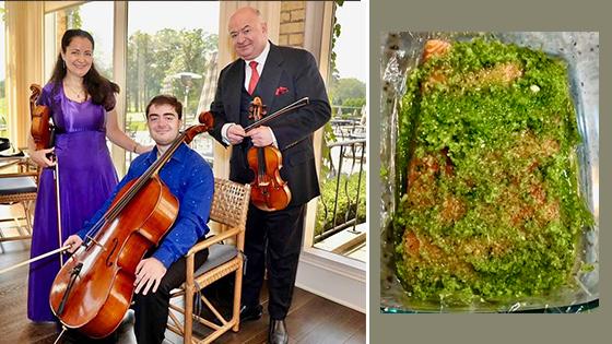 Fiddler's Favorite Recipes Episode 19: Olga Kaler's Lox