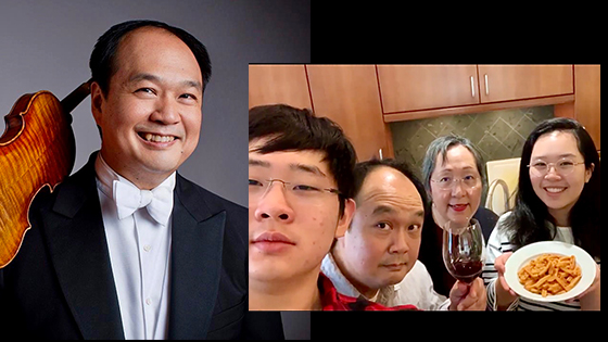 Robert Chen and family
