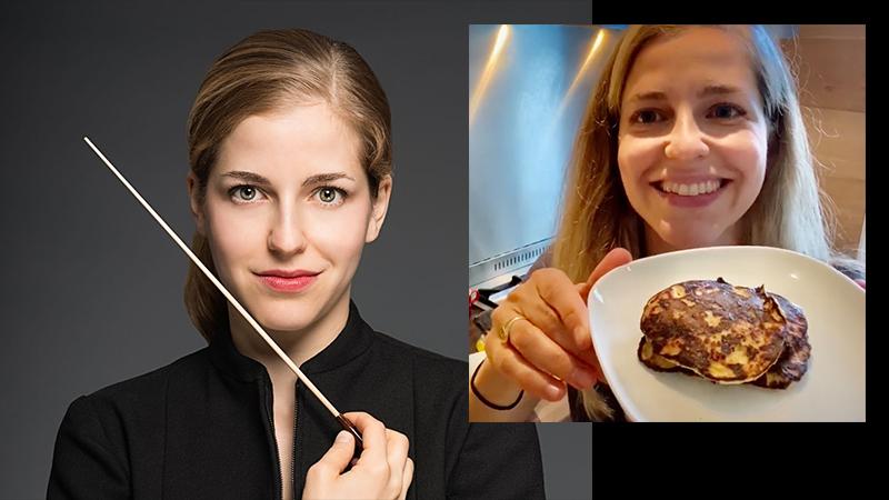 Fiddler's Favorite Recipes Episode 22: Karina Canellakis' 3-Ingredient Pancakes