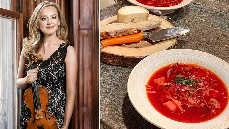 Fiddler's Favorite Recipes Episode 23: Solomiya Ivakhiv's Ukrainian Borscht 'Grandma's Recipe'