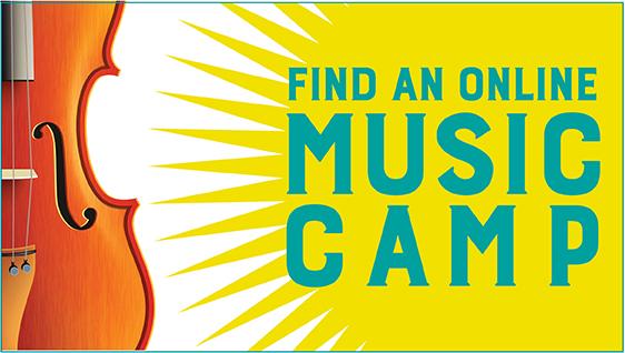 Find an Online Music Camp