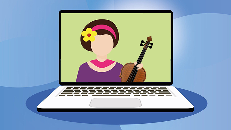 Finding the Resolve to Make Online Violin Lessons Work