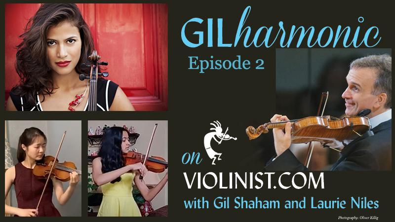 Watch Gilharmonic on Violinist.com, Episode 2
