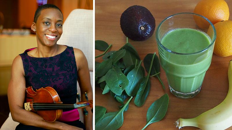 Fiddler's Favorite Recipes Episode 25: Lucinda Ali-Landing's Breakfast Smoothie