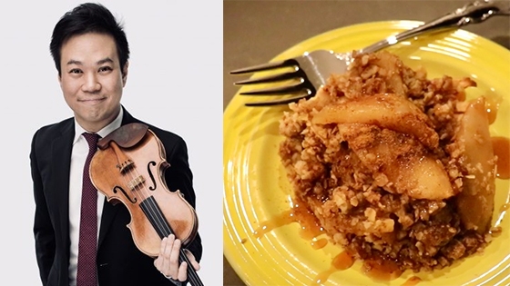 Fiddler's Favorite Recipes Episode 27: Nikki Chooi's Apple Crumble