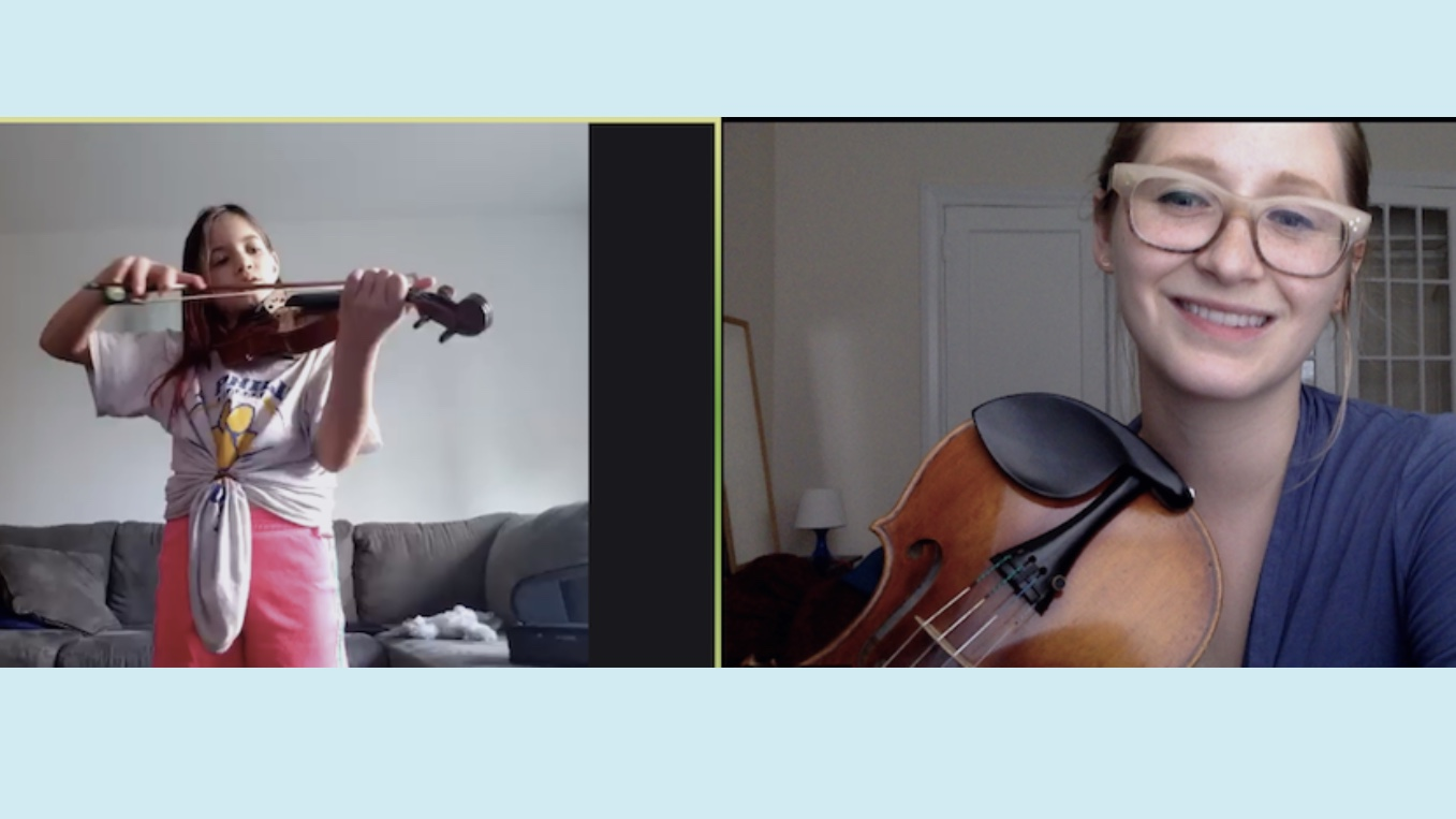 MusicAlly: Using Online Violin Teaching to Reach Out
