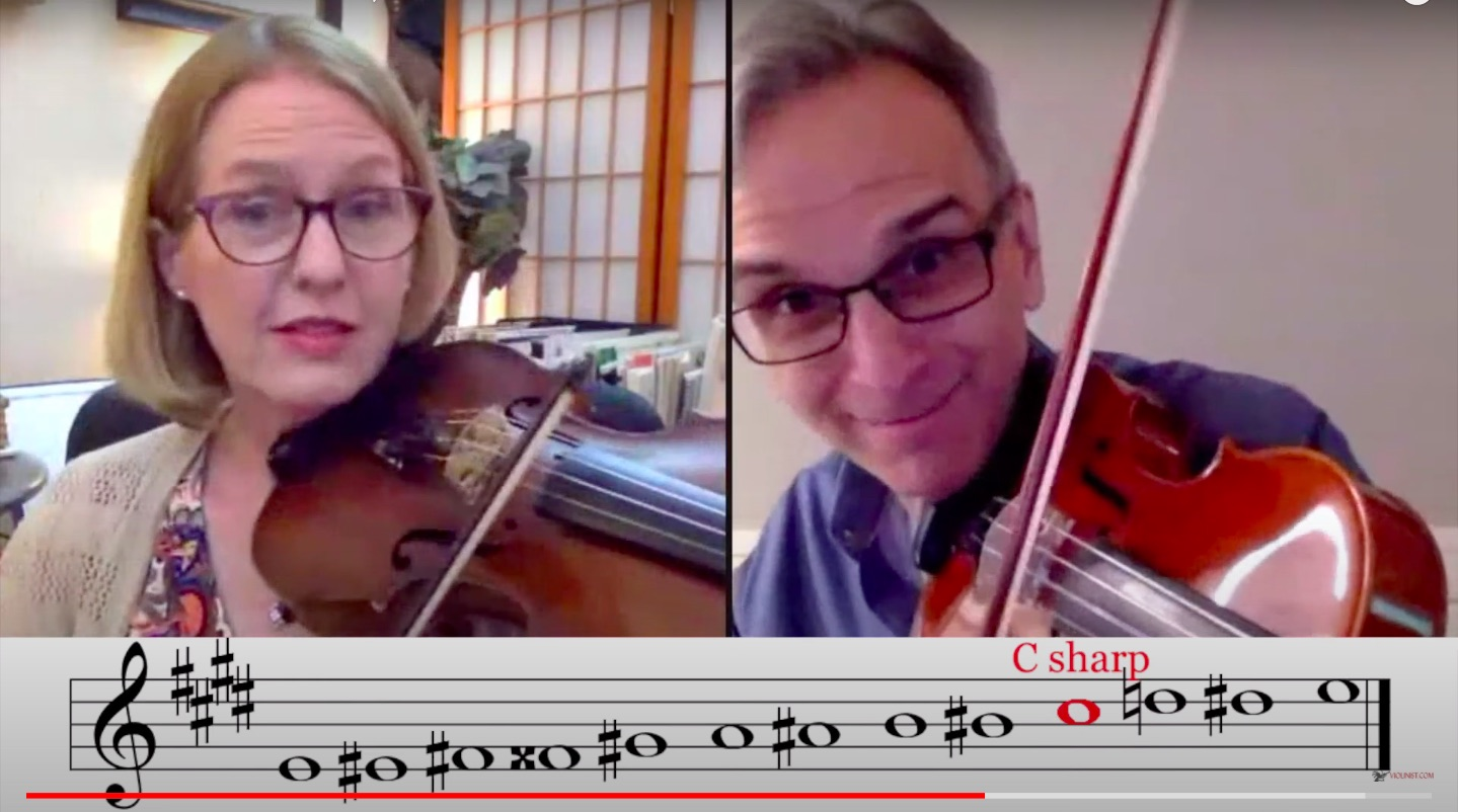 Gil Shaham: Bach Preludio for Solo Violin, a Chromatic Ascent