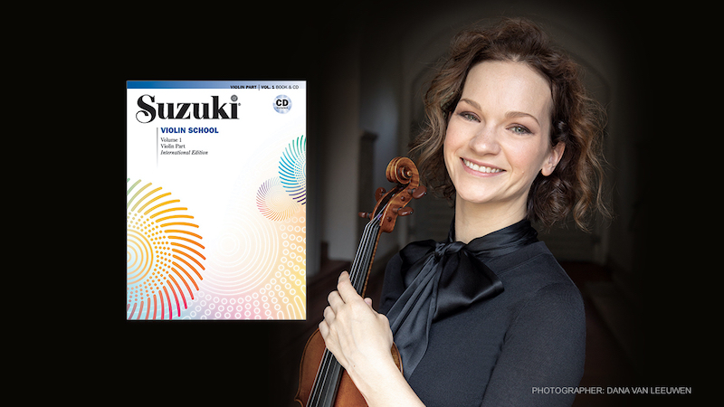 New Suzuki Violin Recordings by Hilary Hahn Now Available for Books 1-3