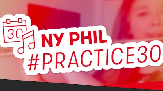 New York Philharmonic Invites Musicians to Join Practice 30 Challenge