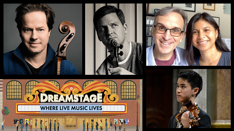 Top Classical Musicians Help Launch New HD Streaming Concert Service: Dreamstage