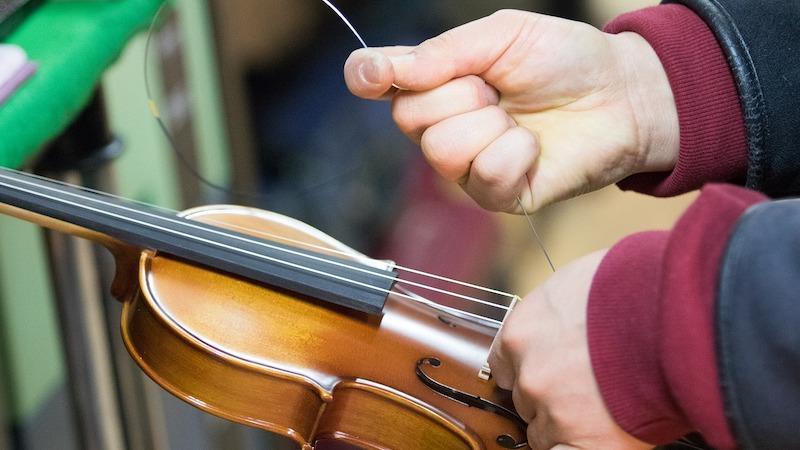 changing strings