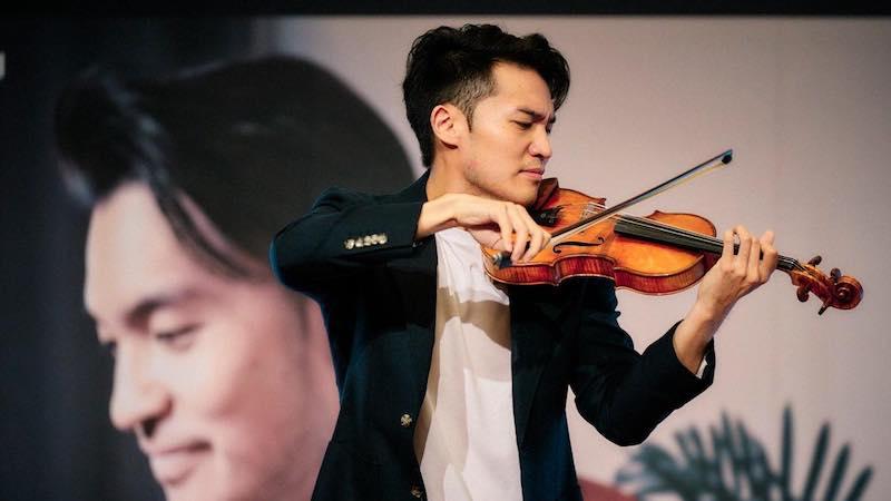 Violinist Ray Chen To Present Free Livestream Masterclass Sunday