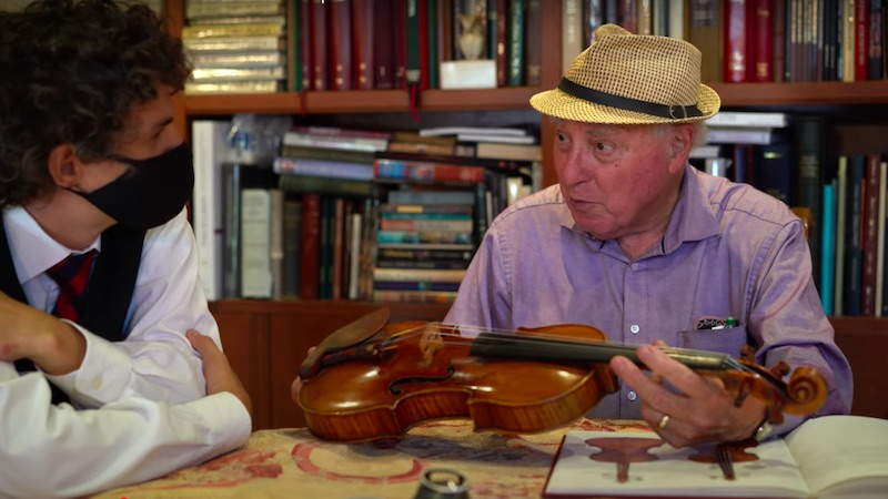 Exploring Stradivari and del Gesù Violins, with Dr. Sloan and Cristian Fatu