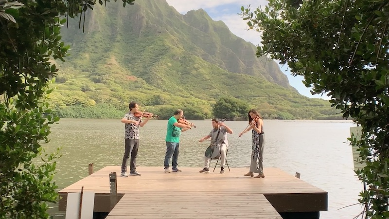 For the Record, Op. 132: Mana Music Quartet's 'Music of Queen Lili'uokalani'