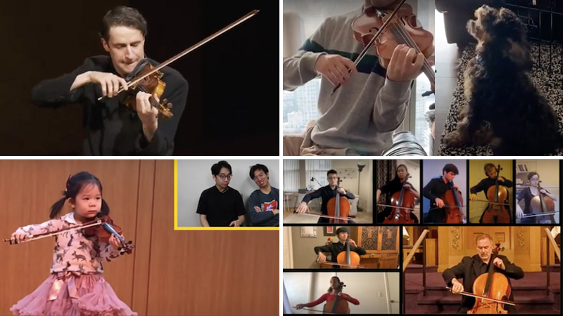 Week in Review: Inspiring Performances and Videos, Op. 3: Noah Bendix-Balgley, TwoSet Violin, Nathan Meltzer
