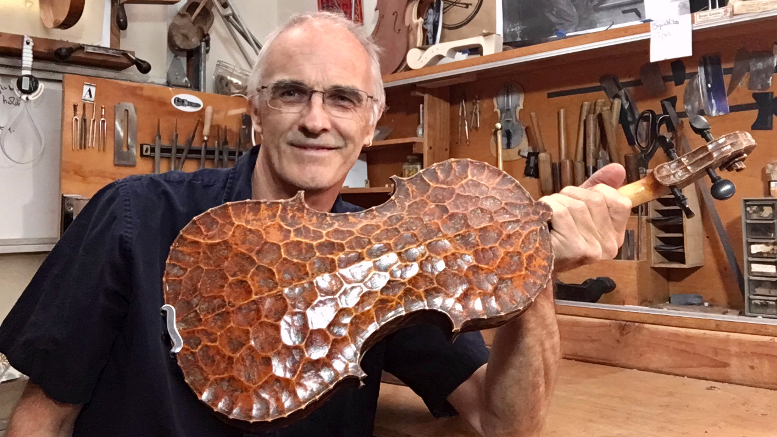 Interview with Violin Maker Andrew Carruthers: Inspiration and the Turtle Fiddle