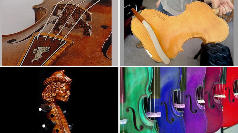 V.com weekend vote: What is the most unique decorative element you've seen on a stringed instrument?