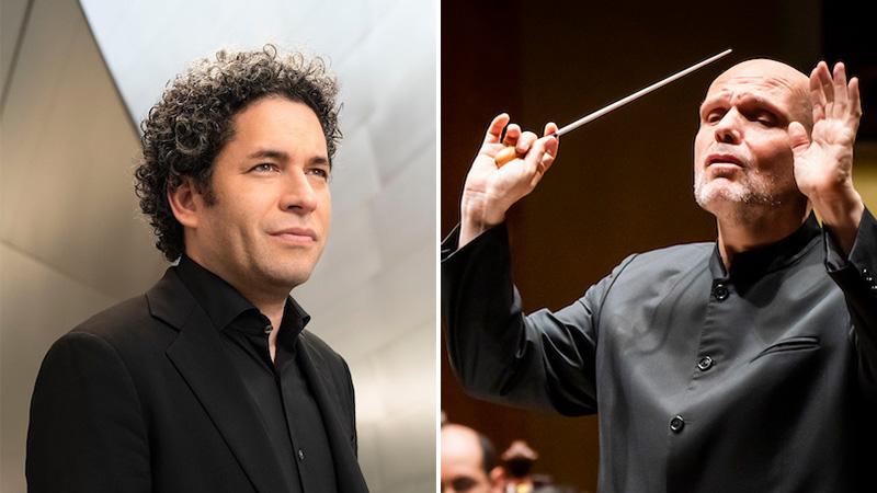 Gustavo Dudamel and Jaap van Zweden