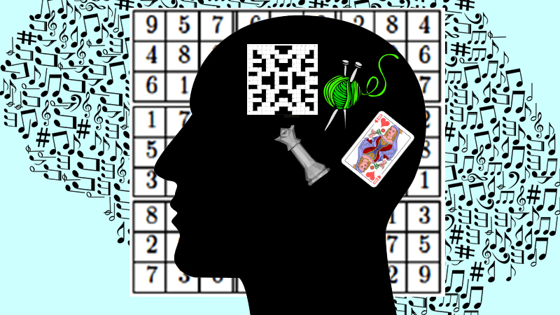 V.com weekend vote: Other than music, what is your favorite brain challenge?