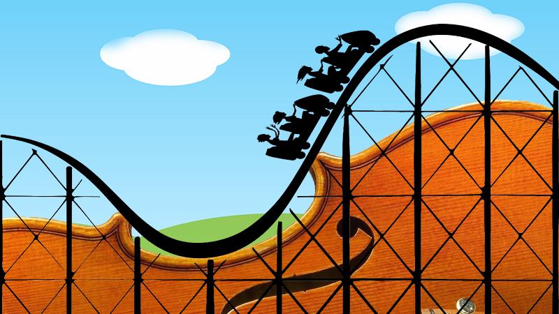 Roller Coaster Violin