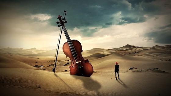 violin alone