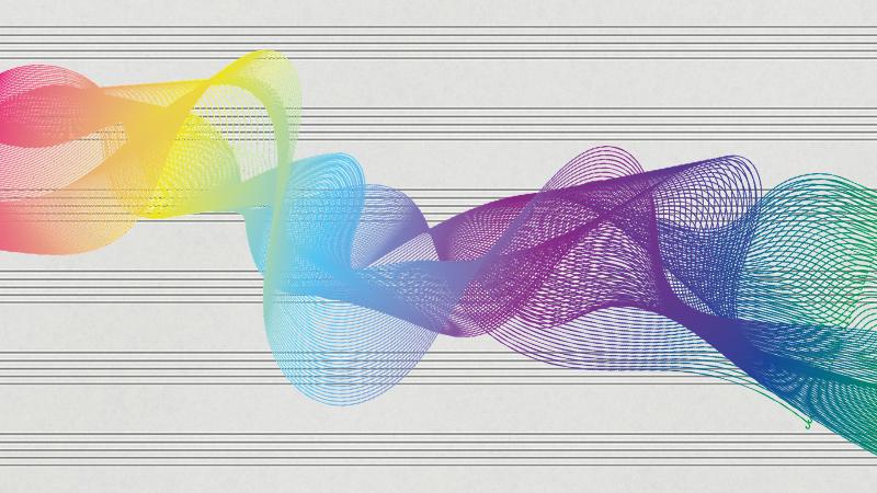 funky soundwave