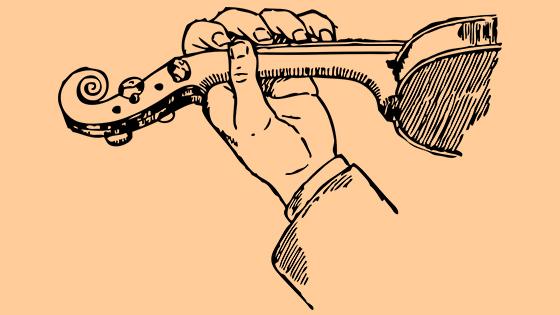 left hand fingerboard