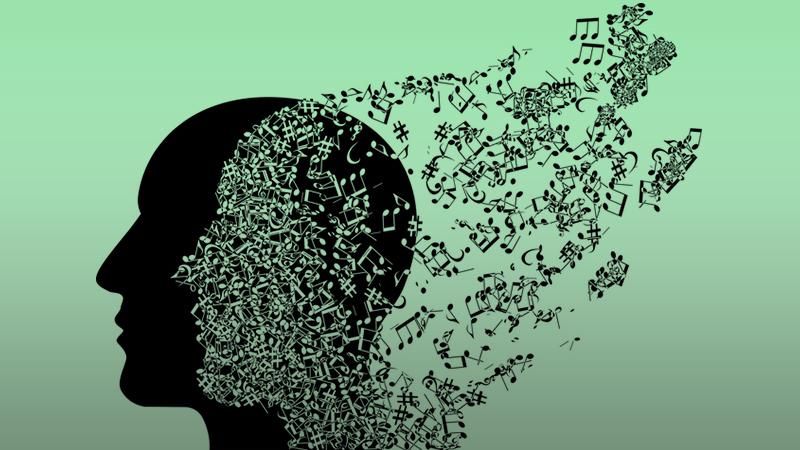 music in head