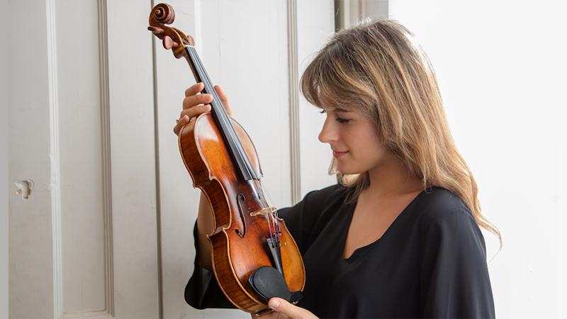For the Record, Op. 146: Francesca Dego records on 'il Cannone'; violist Antoine Tamestit; Liya Petrova