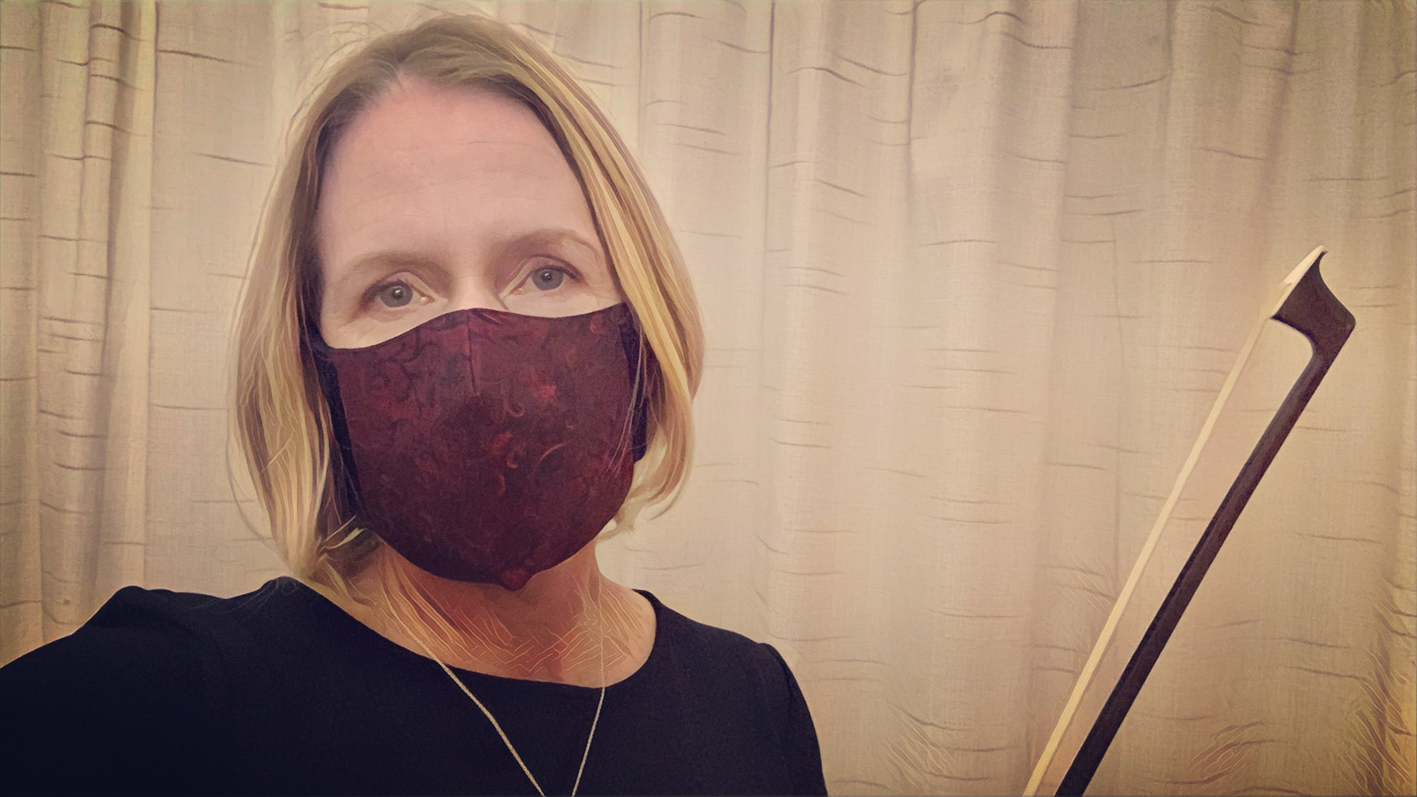 masked Laurie