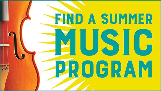 Find a Summer Music Program 2021