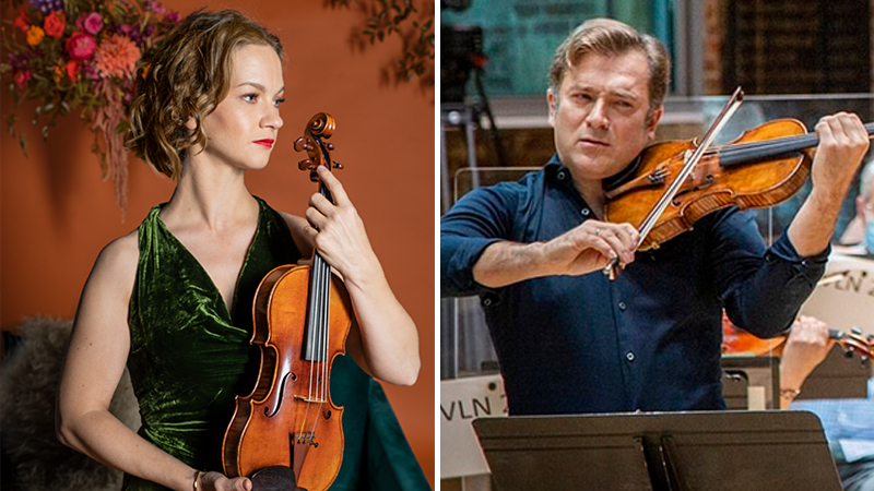 For the Record, Op. 147: Hilary Hahn's 'Paris'; Renaud Capucon's Elgar Concerto and Sonata