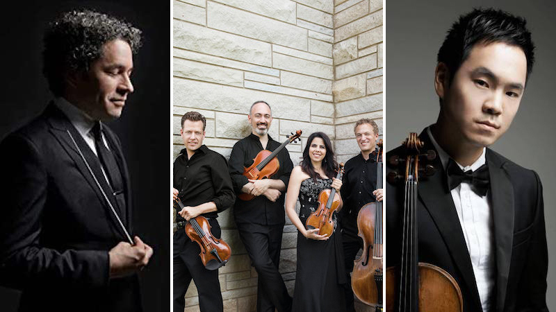 Richard O'Neill; Pacifica Quartet; LA Phil Win 2021 Grammy Awards