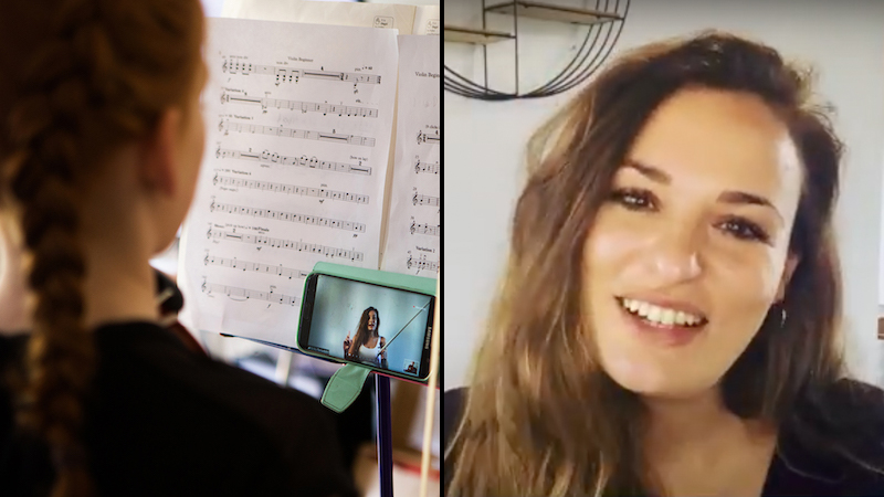 Nicola Benedetti Foundation's Spring Virtual Sessions Focus on Wellness