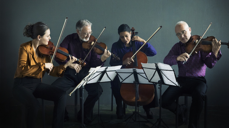 For the Record, Op. 151: Juilliard String Quartet first recording with Areta Zhulla; Elizabeth Chang