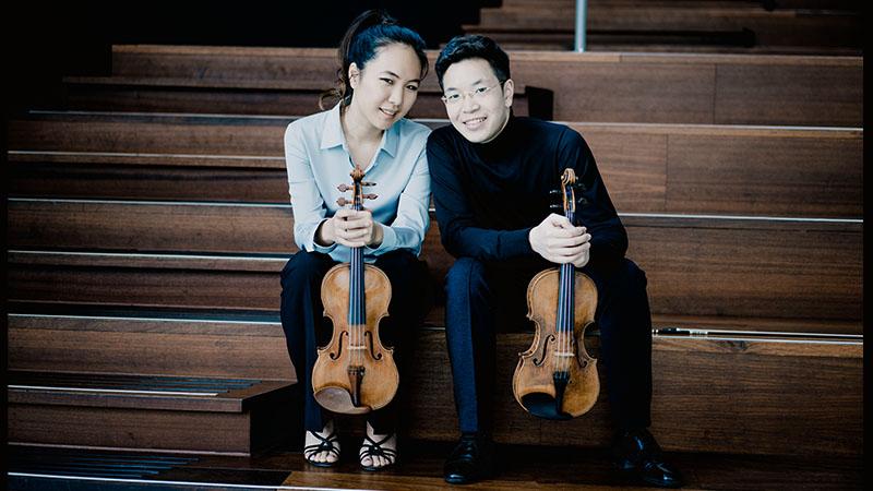 Paul Huang and Danbi Um