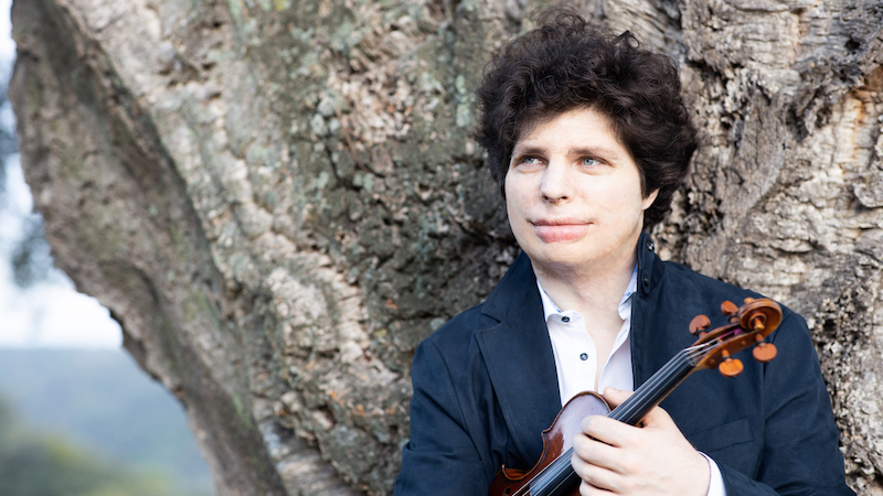Interview with Violinist Augustin Hadelich: Bach Sonatas and Partitas
