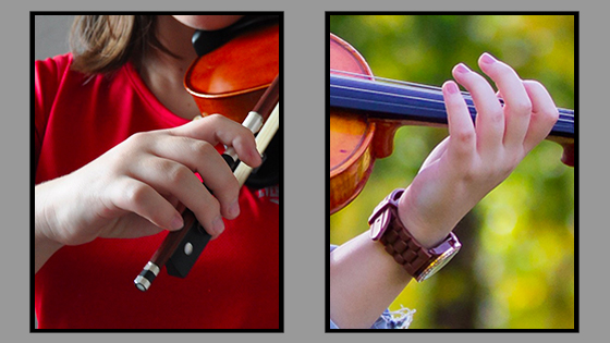 Violin Practice: Using Both Hands to Connect the Technical and the Musical