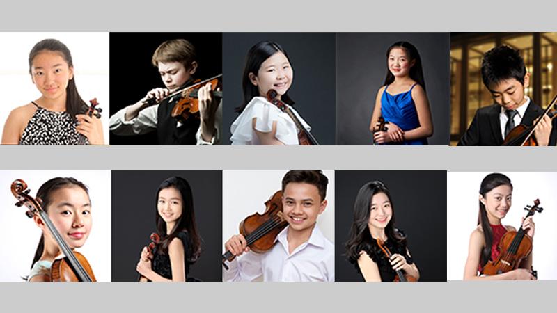 Junior Semi-Finalists Named in 2021 Menuhin Violin Competition