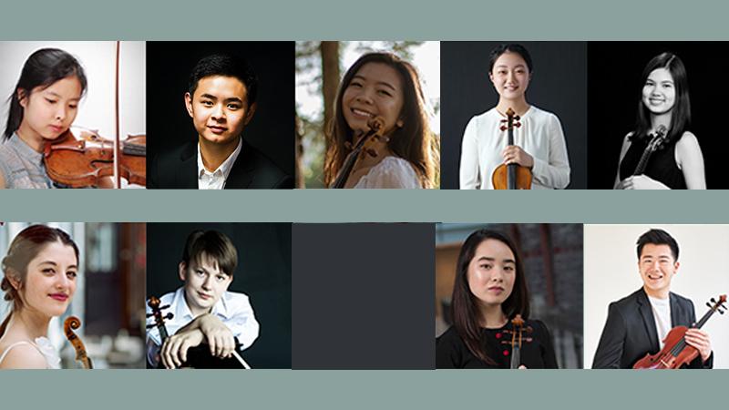 Senior Semi-Finalists Named in 2021 Menuhin Violin Competition