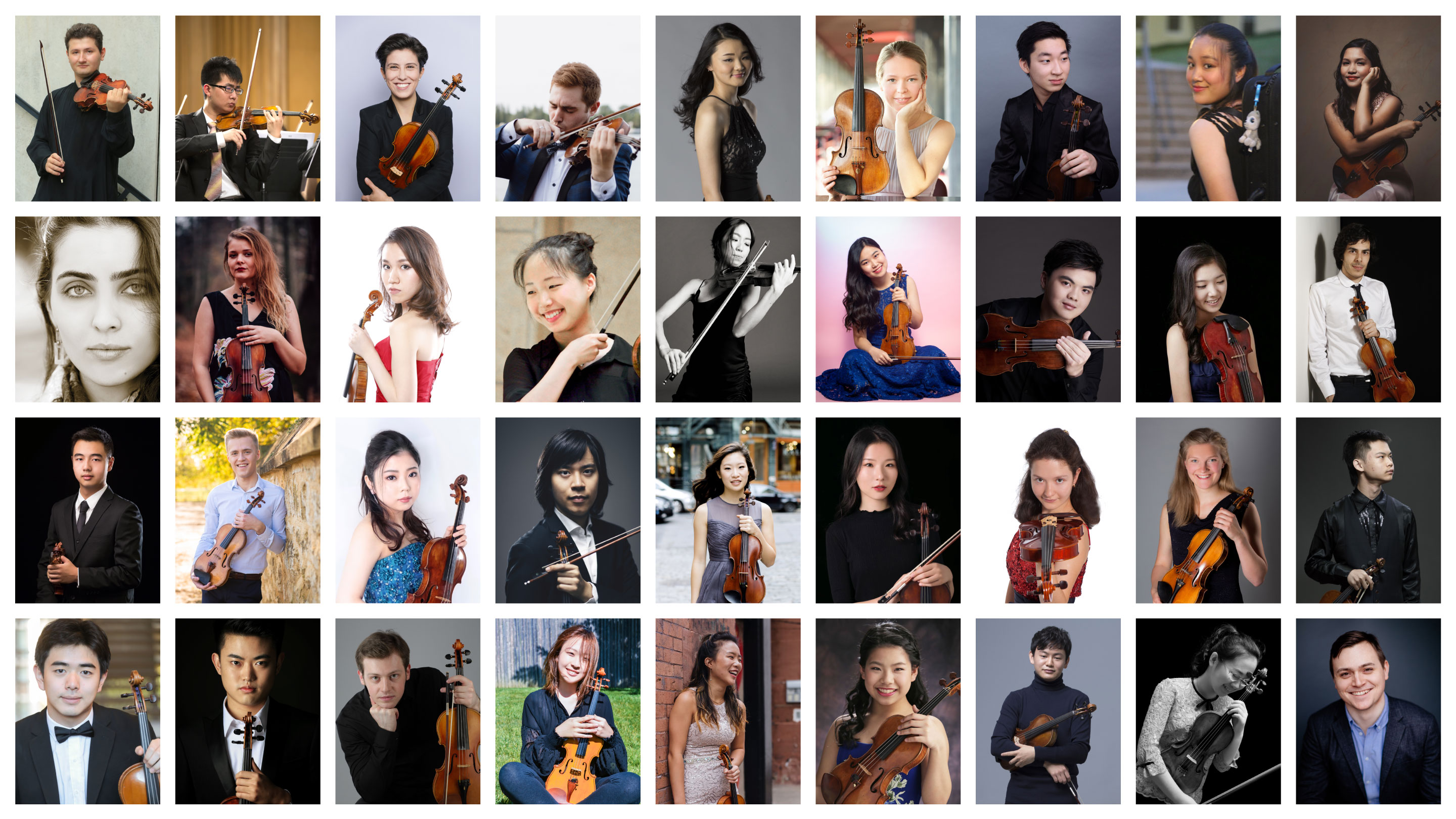 2020 Shanghai Violin Competition Names 36 Contestants and Relaunches after COVID Delay