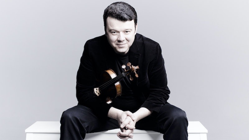 Interview with Vadim Gluzman: Beethoven with Schnittke Cadenzas-- An Extraordinary Cultural Statement