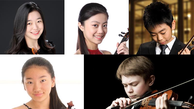 Junior Finalists Announced in 2021 Menuhin Violin Competition