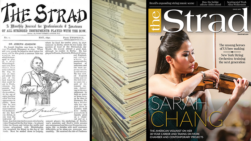 The Strad Index  - Magazine Articles on 300+ Violinists