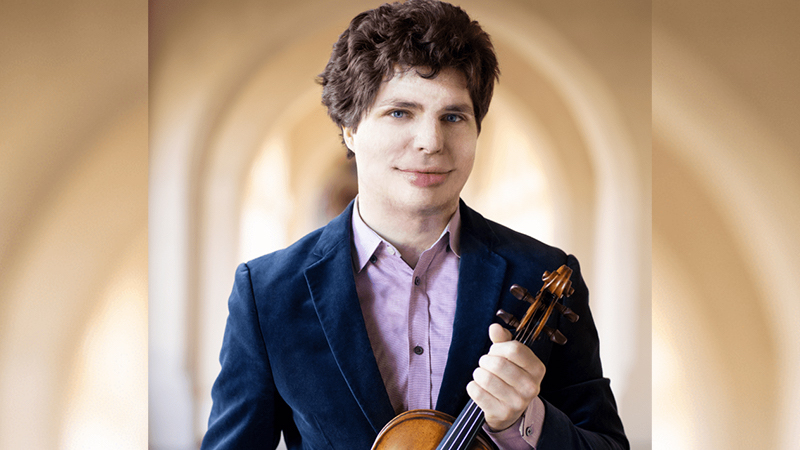 Violinist Augustin Hadelich Appointed to Yale School of Music Faculty
