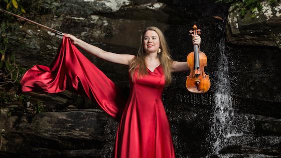Livestream: Watch Violinist Lara St John perform Bach, Coleman and Frank