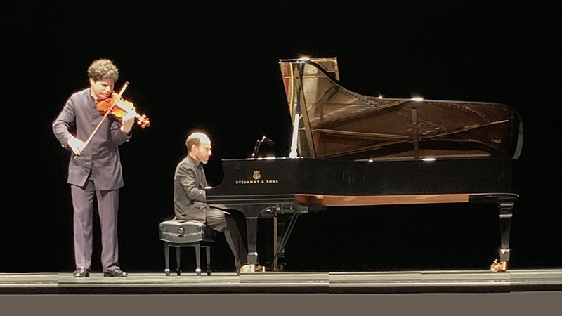 REVIEW: Augustin Hadelich in Recital with Orion Weiss
