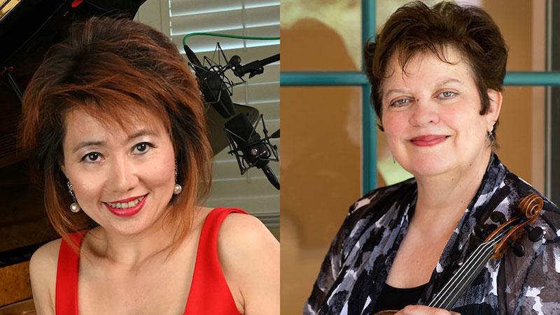 Jorja Fleezanis and Tina Chang Qu