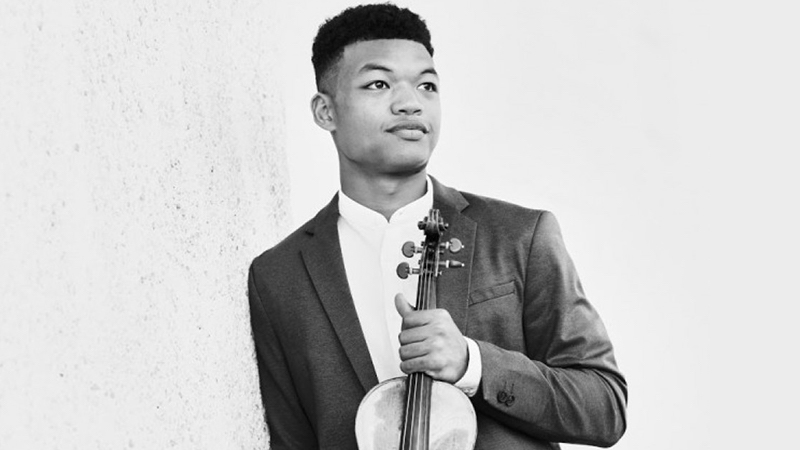 Interview with Violinist Randall Goosby: 'Roots' and African-American Music
